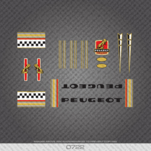 stickers decalcomanies peugeot