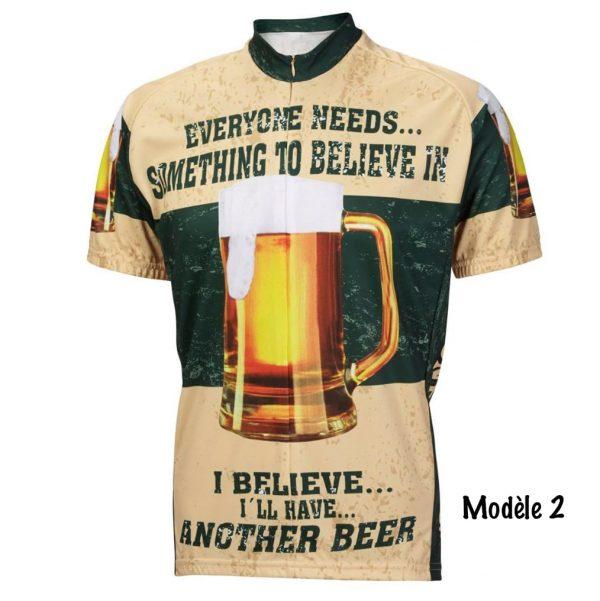 maillot bière cyclisme vélo