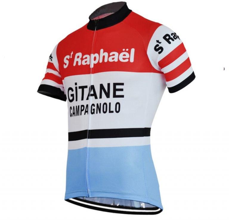 maillot st raphael gitane campagnolo vintage vélo cyclisme