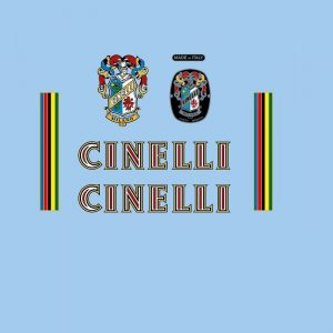 Cinelli set stickers velo vintage autocollants