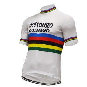 maillot del tongo colnago vintage cyclisme