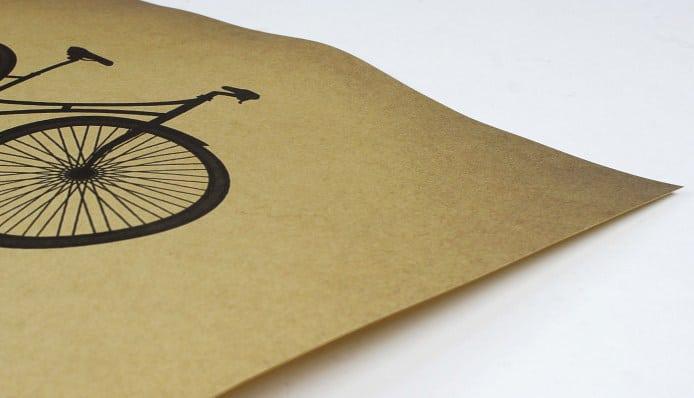 affiche vélo vintage