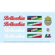 Bottecchia set stickers velo vintage