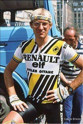 maillot cycliste eroica fignon renault gitane elf