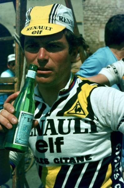 Maillot cycliste vintage hinault renaut-gitane elf