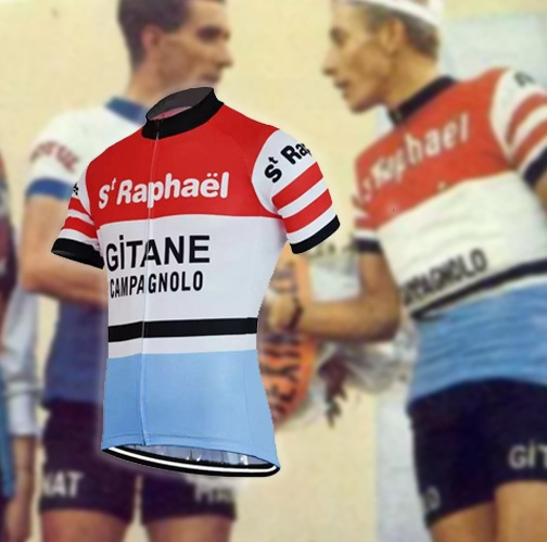 maillot cycliste vintage gitane anquetil