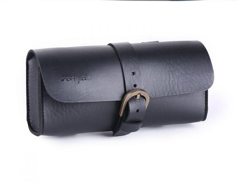 sacoche selle noir vintage