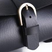 sacoche vintage noir velo