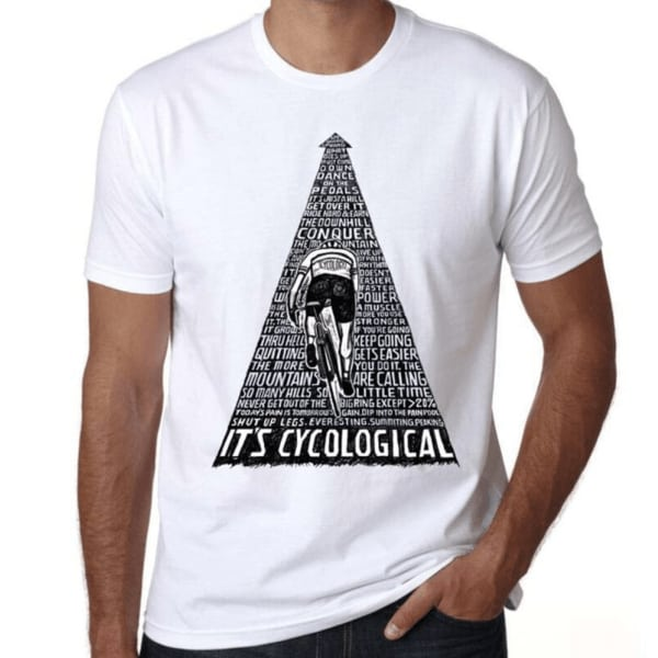 t shirt velo it's cyclological