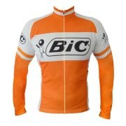 maillot manche longue vintage cyclisme bic