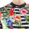 maillot cyclisme fleurs tropique original design