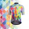 maillot cyclisme coloré multicolore original design