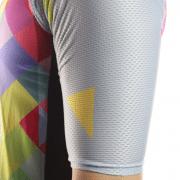 maillot cyclisme coloré multicolore original design