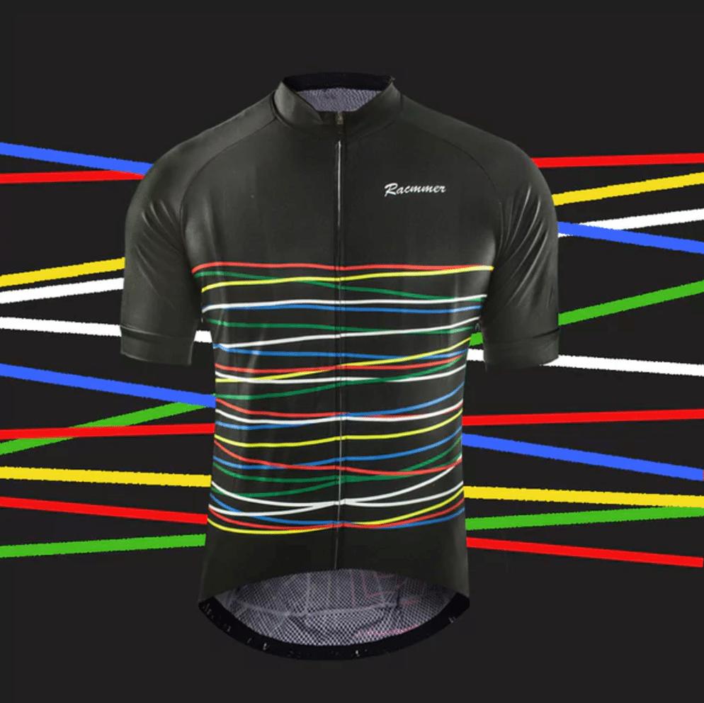 maillot cyclisme laser coloré fixie original design
