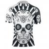 maillot cyclisme tête mort crâne fixie original design
