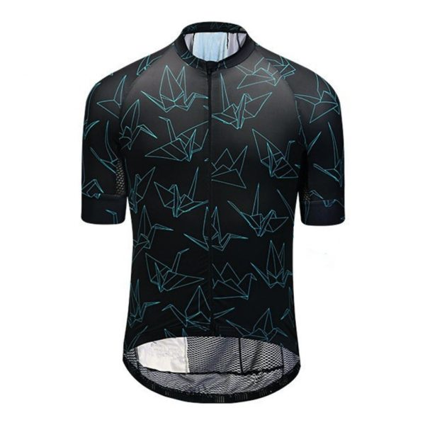 maillot cyclisme origami fixie original design