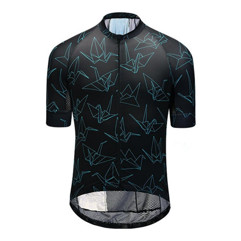 maillot cyclisme origami fixie original design