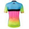 maillot femme coloré cyclisme