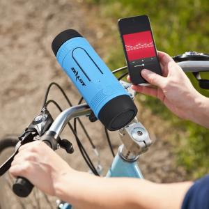 lampe enceinte bluetooth vélo chargeur