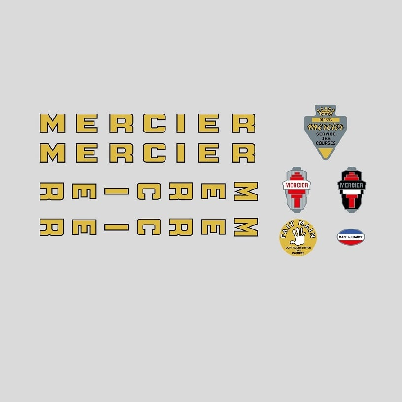 Mercier stickers autocollants