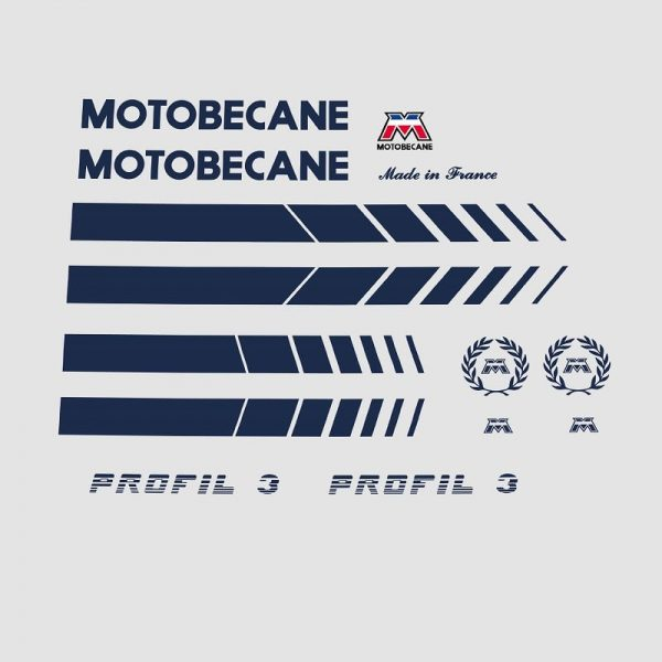 Motobecane stickers velo autocollants