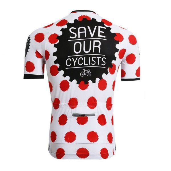 maillot save our cyclists cyclisme original vélo