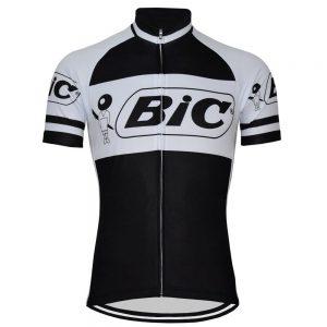 maillot vintage bic vélo cycliste