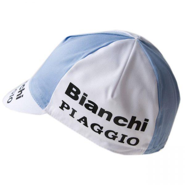 casquette vintage cyclisme vélo bianchi piaggio