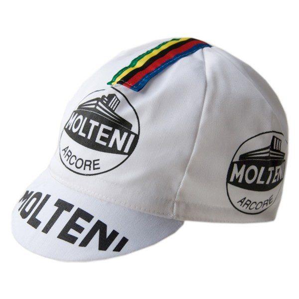 casquette cycliste vintage molteni