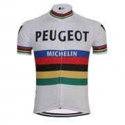 maillot vintage peugeot vélo cycliste