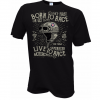 t-shirt tshirt moto custom café racer born to race