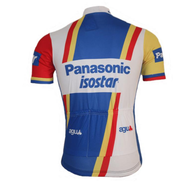 maillot vélo cyclisme panasonic isostar vintage eroica