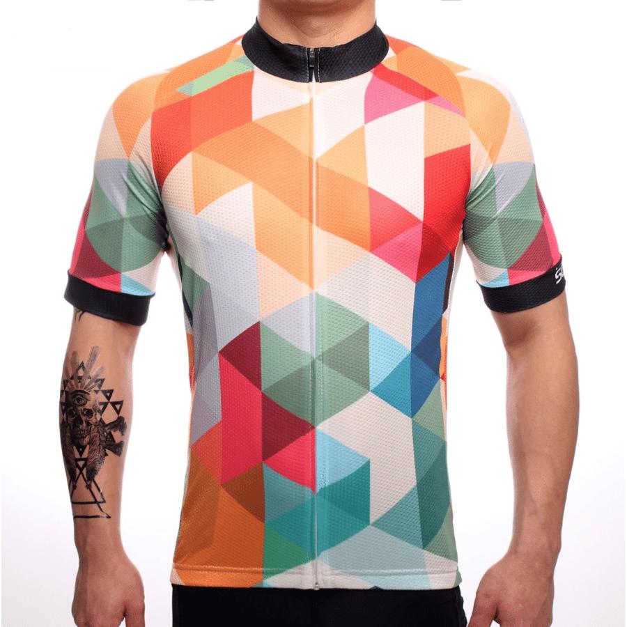 maillot cyclisme sunset coloré fixie original design