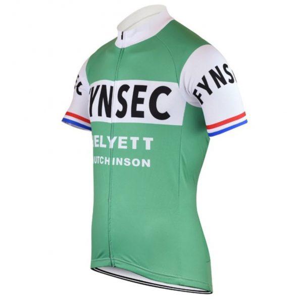 helyett anjou maillot vert vélo course vintage eroica