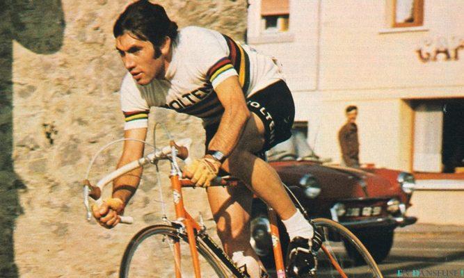 eddy merckx tenue cyclisme vintage