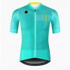 maillot cyclisme fluo flashy vélo bleu