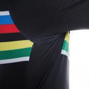 maillot cyclisme vélo champion monde noir