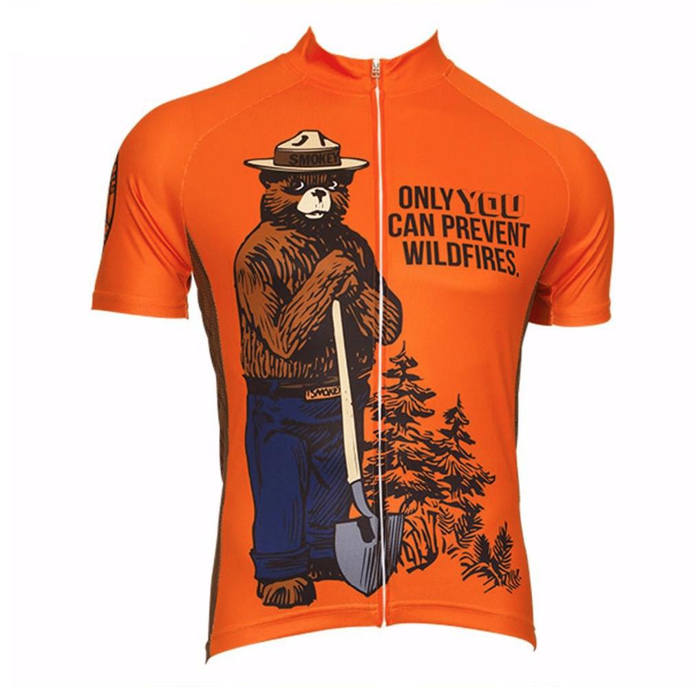 maillot original cycliste vélo orange