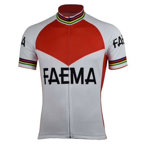 maillot cyclisme faema vélo cycliste