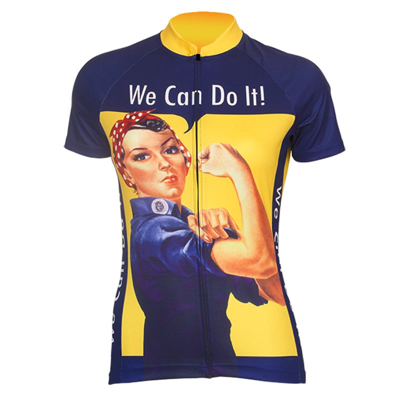 maillot cyclisme original we can do it