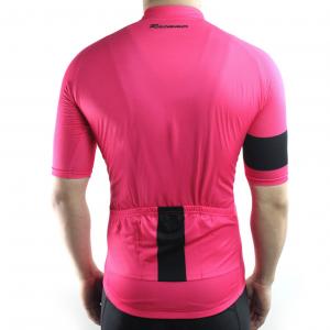maillot cyclisme original rose vélo cycliste