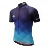 maillot original bleu cyclisme vélo cycliste