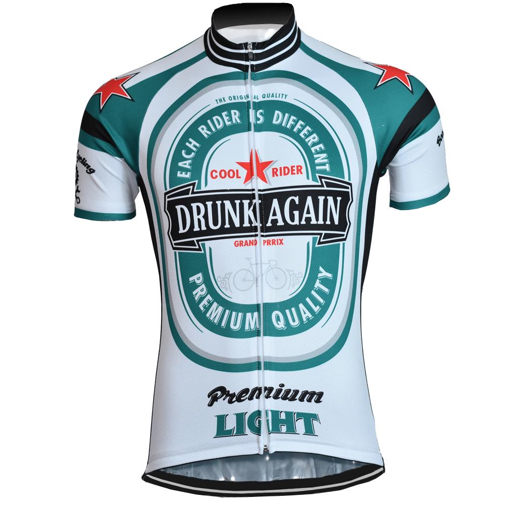 maillot vélo cyclisme bière drunk