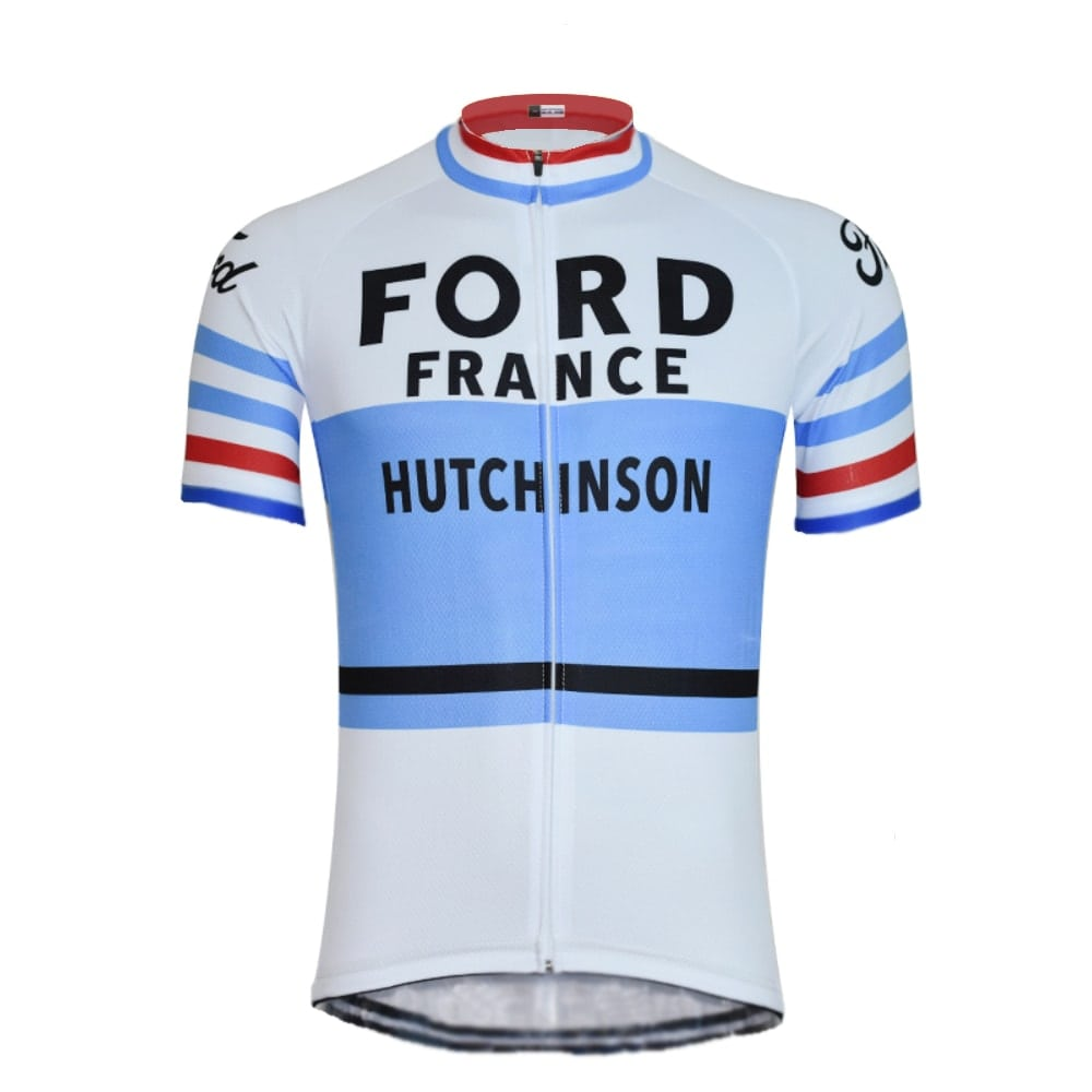 maillot cyclisme vintage ford france hutchinson anquetil