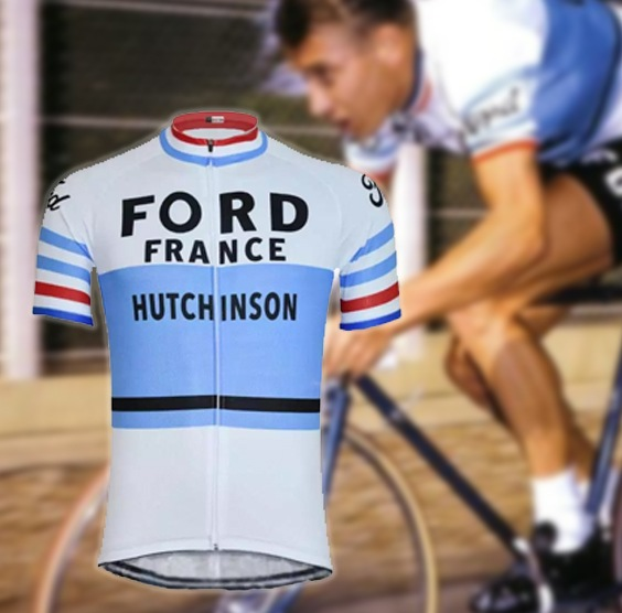 maillot cycliste vintage ford