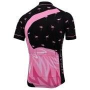 maillot cyclisme vélo original flamant rose