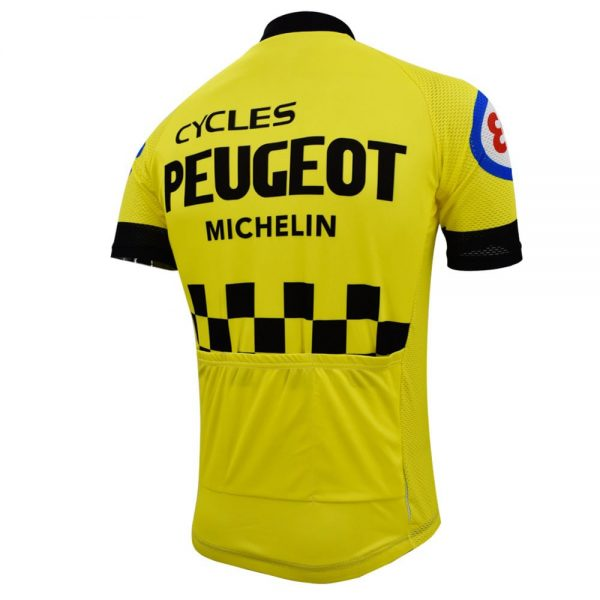maillot peugeot cyclisme michelin vélo course eroica