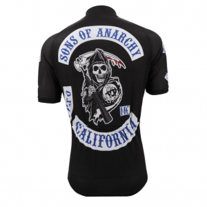 maillot cyclisme velo sons of anarchy