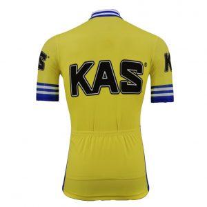 maillot vintage kas jaune sean kelly