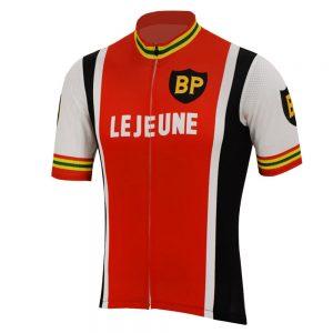 maillot cyclisme vintage bp lejeune